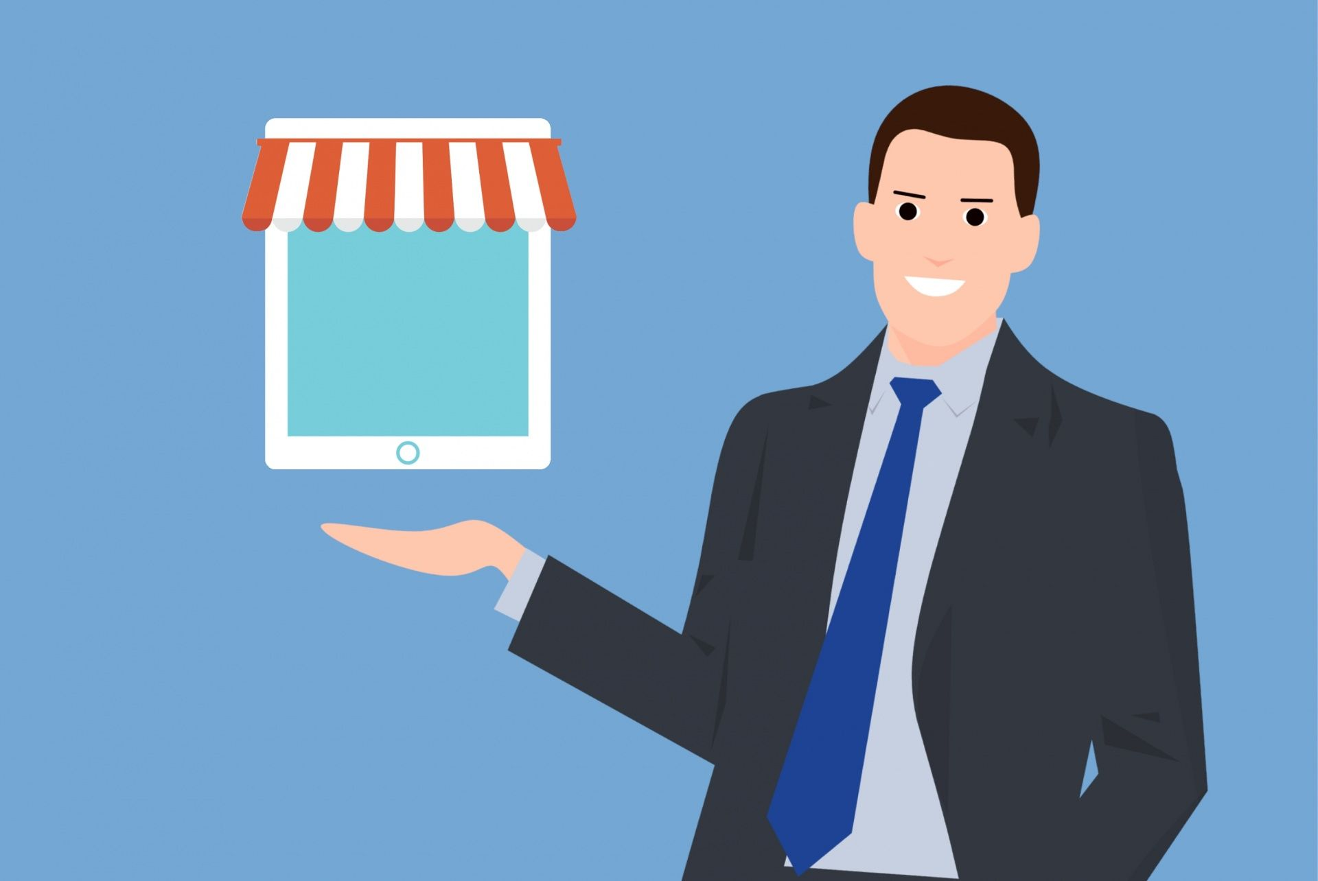 Happy about online store growth